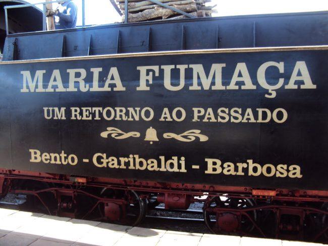Ferrovia do vinho – Carlos Barbosa, Garibaldi e Bento Gonçalves/ RS