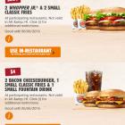 Duas pessoas comendo nos EUA por R$17? Sim, isso é possível!
