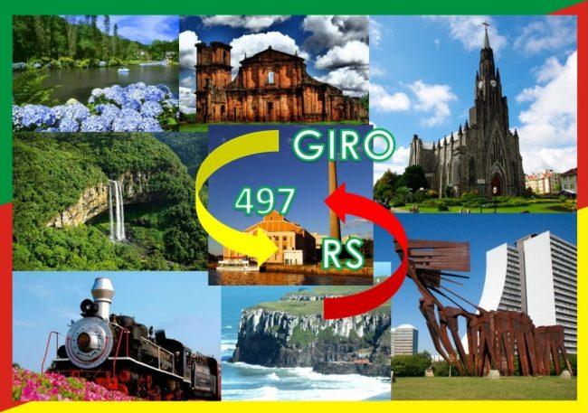 Giro 497 RS – de Aceguá a Xangri-lá
