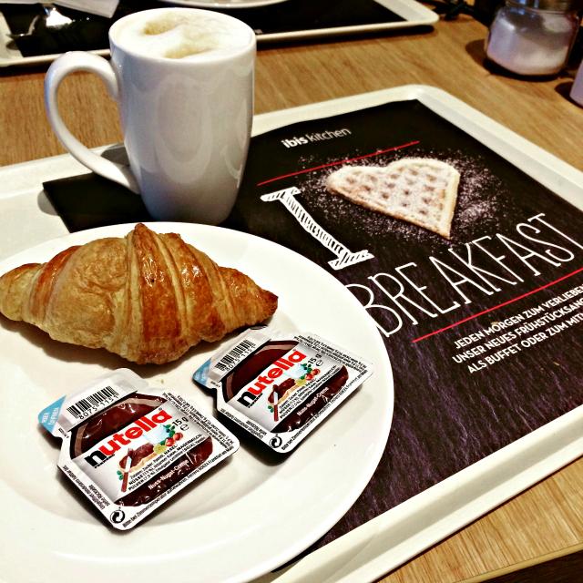 Café da manhã Hotel Ibis Stuttgart Alemanha - Ibis Stuttgart City