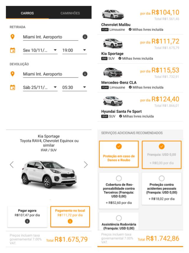 Cotação Sixt Miami Aeroporto - Alugar um carro no aeroporto é mais caro?