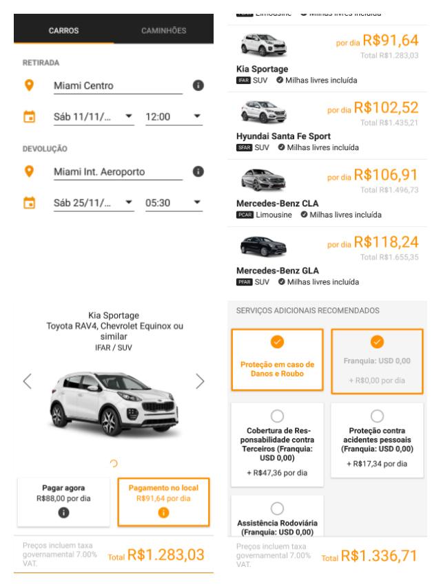 Cotação Sixt Miami Centro - Alugar um carro no aeroporto é mais caro?
