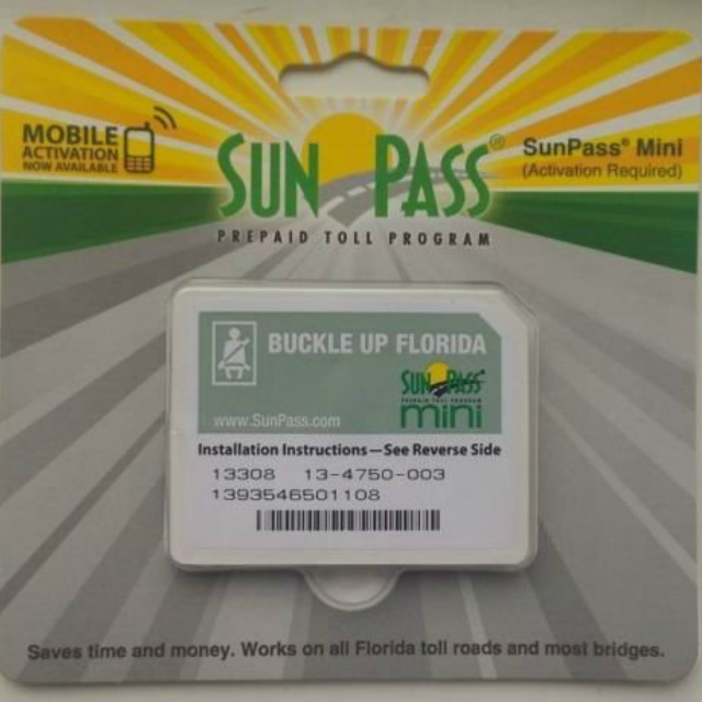 Como economizar com pedágios na Flórida? Utilize o SunPass Mini