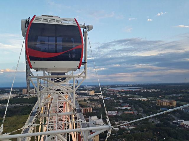 Orlando Eye Roda Gigante Capsula Vista Cidade - Orlando Eye: Conheça a roda gigante de Orlando