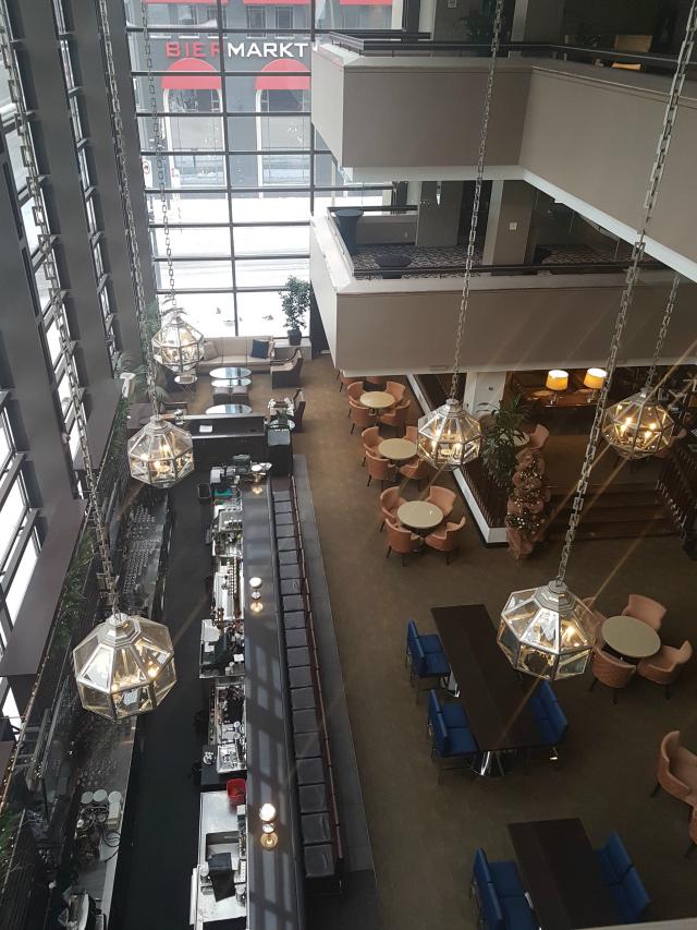 Le Centre Sheraton Montreal Hotel Bar Saguão - Hotel em Montreal: Le Centre Sheraton Montreal Hotel