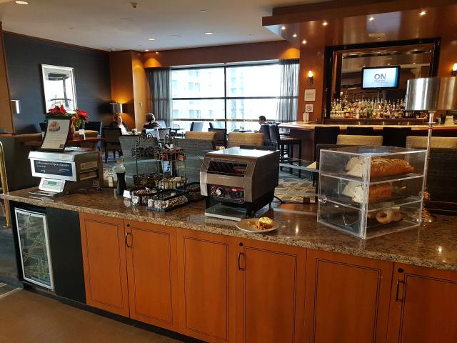 Le Centre Sheraton Montreal Hotel Café da Manhã Pães Panquecas - Hotel em Montreal: Le Centre Sheraton Montreal Hotel