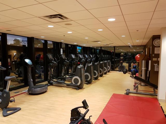 Le Centre Sheraton Montreal Hotel Gym - Hotel em Montreal: Le Centre Sheraton Montreal Hotel