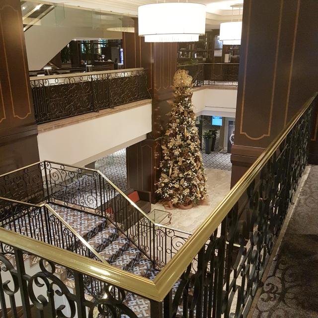 Le Centre Sheraton Montreal Hotel Hall Recepção - Hotel em Montreal: Le Centre Sheraton Montreal Hotel