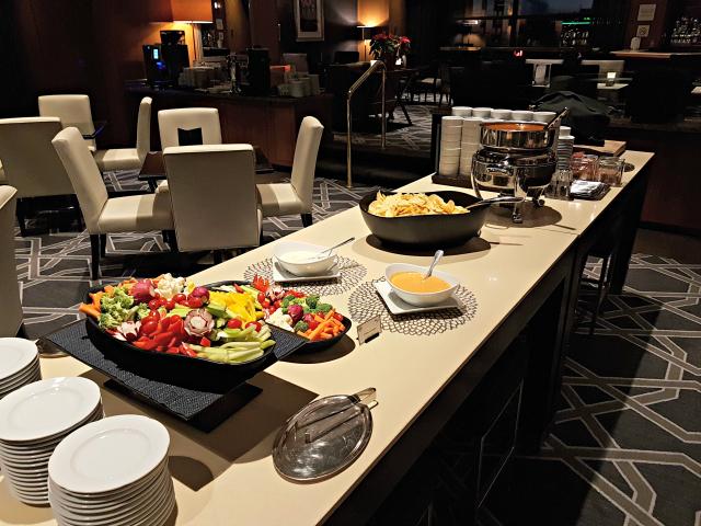 Le Centre Sheraton Montreal Hotel Snacks Saladas - Hotel em Montreal: Le Centre Sheraton Montreal Hotel