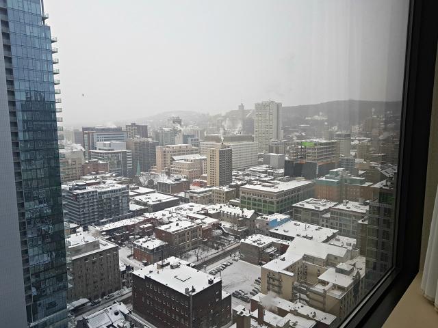 Le Centre Sheraton Montreal Hotel Vista do Quarto - Hotel em Montreal: Le Centre Sheraton Montreal Hotel