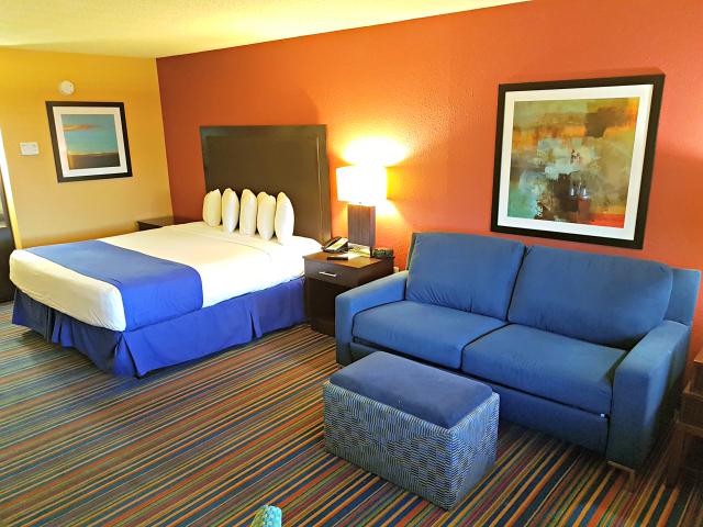 CocoKey Hotel Orlando Quarto Sofá cama - Hospedagem em Orlando: Coco Key Hotel & Water Resort