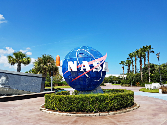Kennedy Space Center Nasa Entrada - Conhecendo o Kennedy Space Center
