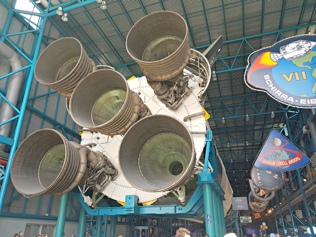 Kennedy Space Center Nasa Foguete Saturn V - Conhecendo o Kennedy Space Center