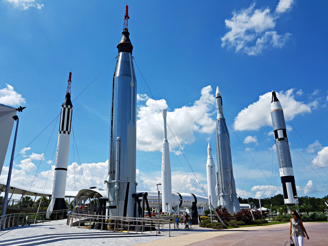 Kennedy Space Center Nasa Praça dos Foguetes - Conhecendo o Kennedy Space Center