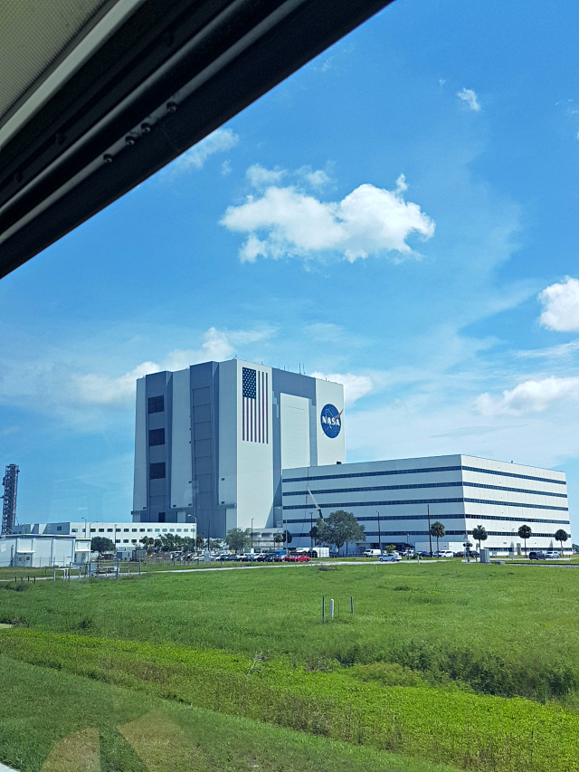 Kennedy Space Center Nasa Predio Montagem Foguetes - Conhecendo o Kennedy Space Center