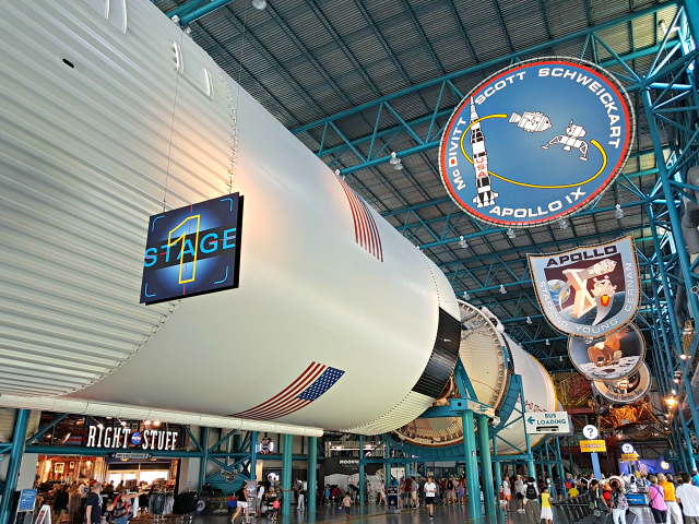 Kennedy Space Center Nasa Saturn V - Conhecendo o Kennedy Space Center