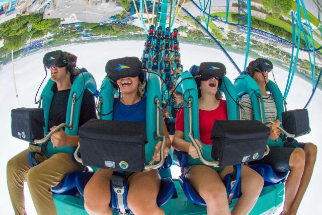 Kraken Unleashed RPOV Inverted SeaWorld - Montanhas-russas no SeaWorld em Orlando