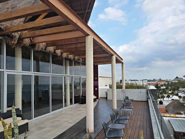 Hotel All Inclusive Senses Artsana Playa Del Carmen Bar Terraço - Nossa primeira vez em um All Inclusive - Hotel em Playa del Carmen