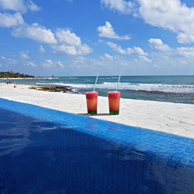 Hotel All Inclusive Senses Artsana Playa Del Carmen Drinks - Nossa primeira vez em um All Inclusive - Hotel em Playa del Carmen