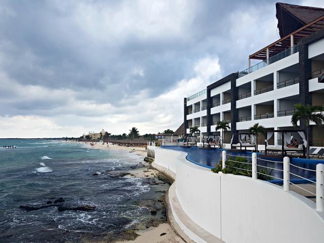 Hotel All Inclusive Senses Artsana Playa Del Carmen Fachada Praia - Nossa primeira vez em um All Inclusive - Hotel em Playa del Carmen