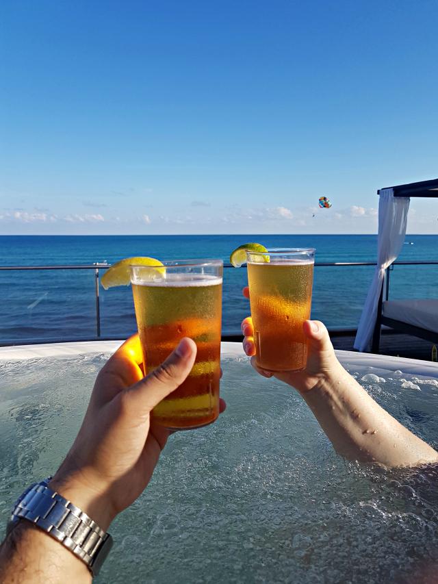 Hotel All Inclusive Senses Artsana Playa Del Carmen Jacuzzi - Nossa primeira vez em um All Inclusive - Hotel em Playa del Carmen