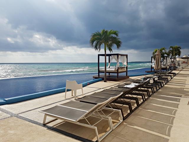 Hotel All Inclusive Senses Artsana Playa Del Carmen Pool beach - Nossa primeira vez em um All Inclusive - Hotel em Playa del Carmen