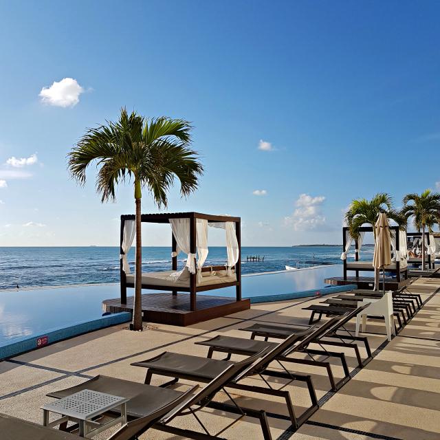 Hotel All Inclusive Senses Artsana Playa Del Carmen Pool - Nossa primeira vez em um All Inclusive - Hotel em Playa del Carmen