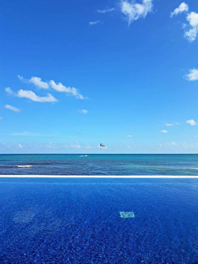 Hotel All Inclusive Senses Artsana Playa Del Carmen Praia piscina - Nossa primeira vez em um All Inclusive - Hotel em Playa del Carmen