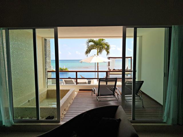 Hotel All Inclusive Senses Artsana Playa Del Carmen Vista Sala - Nossa primeira vez em um All Inclusive - Hotel em Playa del Carmen
