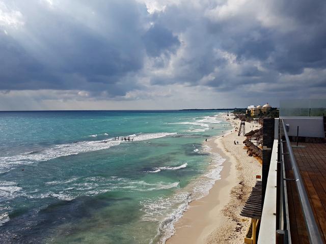 Hotel All Inclusive Senses Artsana Playa Del Carmen Vista Terraço - Nossa primeira vez em um All Inclusive - Hotel em Playa del Carmen