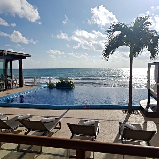 Hotel All Inclusive Senses Artsana Playa Del Carmen Vista - Nossa primeira vez em um All Inclusive - Hotel em Playa del Carmen