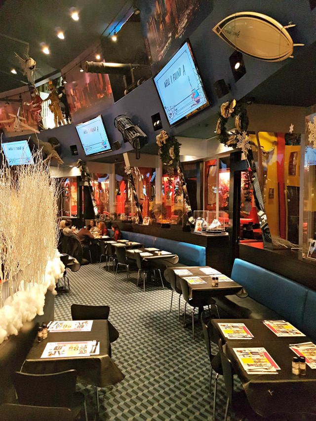 Planet Hollywood NYC Times Square Ambientes Restaurante - Planet Hollywood New York City