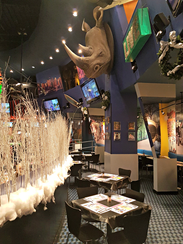 Planet Hollywood NYC Times Square Ambientes - Planet Hollywood New York City
