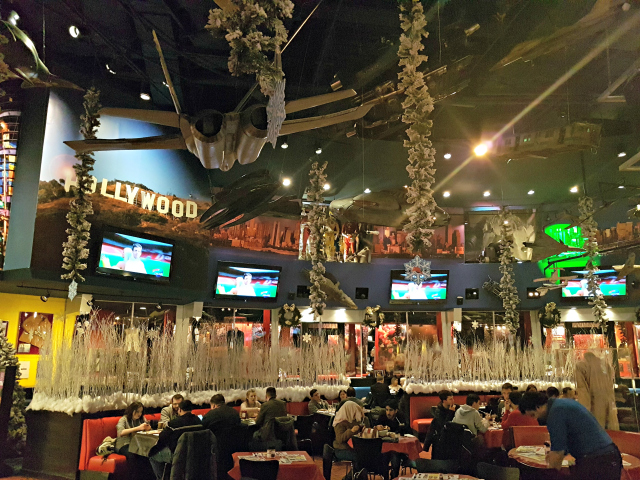 Planet Hollywood NYC Times Square Decoração - Planet Hollywood New York City