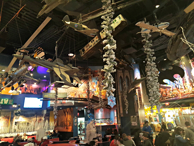 Planet Hollywood NYC Times Square Restaurante Nova York - Planet Hollywood New York City