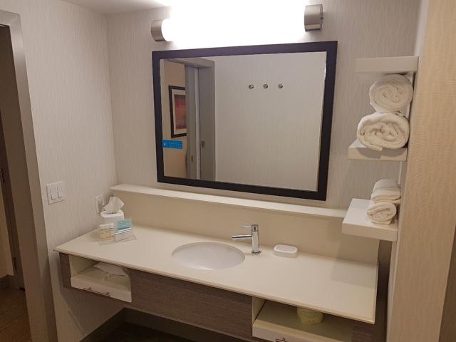 Hotel Hampton Inn Miami Midtown Banheiro Espelho - Hotel em Miami Midtown: Hampton Inn & Suites Miami Midtown