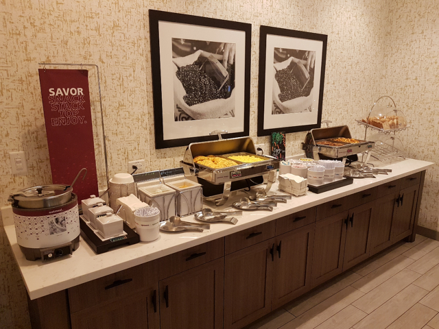 Hotel Hampton Inn Miami Midtown Breakfast Quentes - Hotel em Miami Midtown: Hampton Inn & Suites Miami Midtown