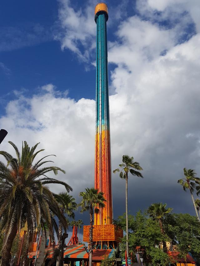 Busch Gardens Tampa Falcons Fury - O Parque mais Radical da Flórida: Busch Gardens