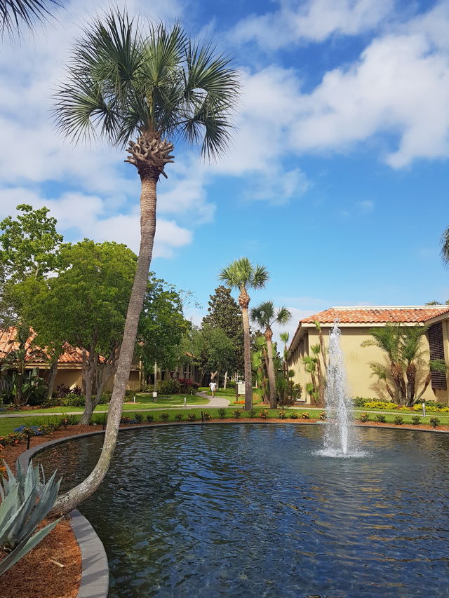 DoubleeTree by HIlton Hotel Orlando at SeaWorld Jardins lago - Hotel em Orlando: DoubleTree by Hilton Hotel Orlando at SeaWorld