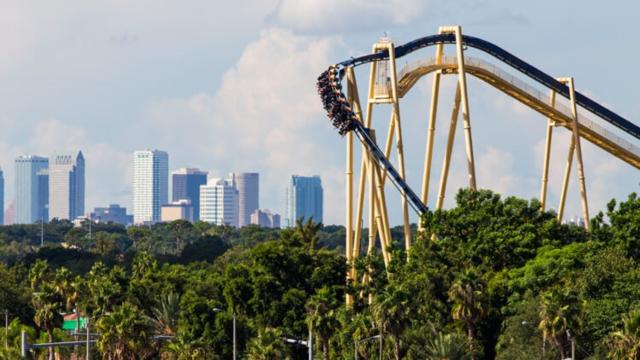 Mantu - O Parque mais Radical da Flórida: Busch Gardens