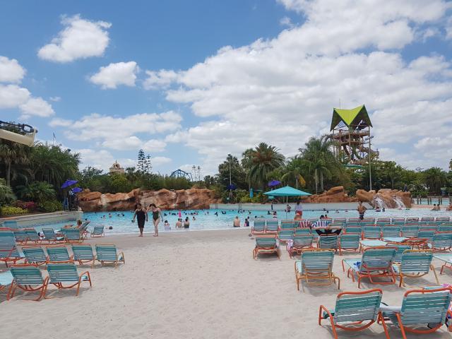 Parque Aquatica Orlando Praia Artificial 1 - Parque Aquatica em Orlando: Conheça o parque aquático do Grupo SeaWorld