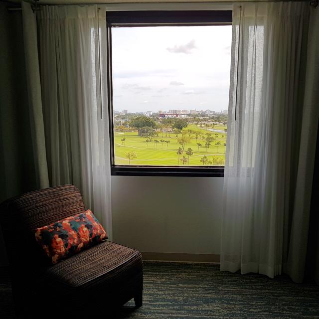 Hotel Sheraton Miami Airport vista kingroom - Hotel em Miami: Sheraton Miami Airport Hotel