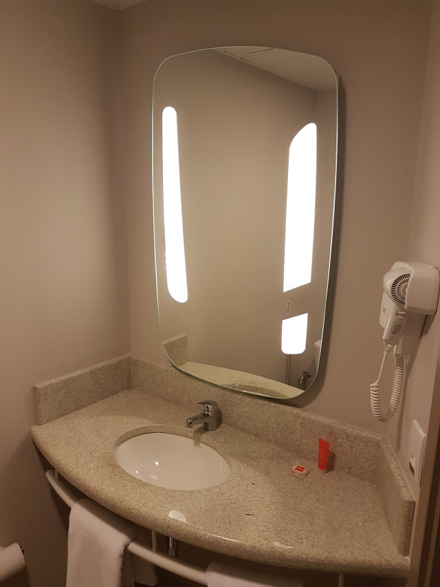 Banheiro hotel ibis igrejinha