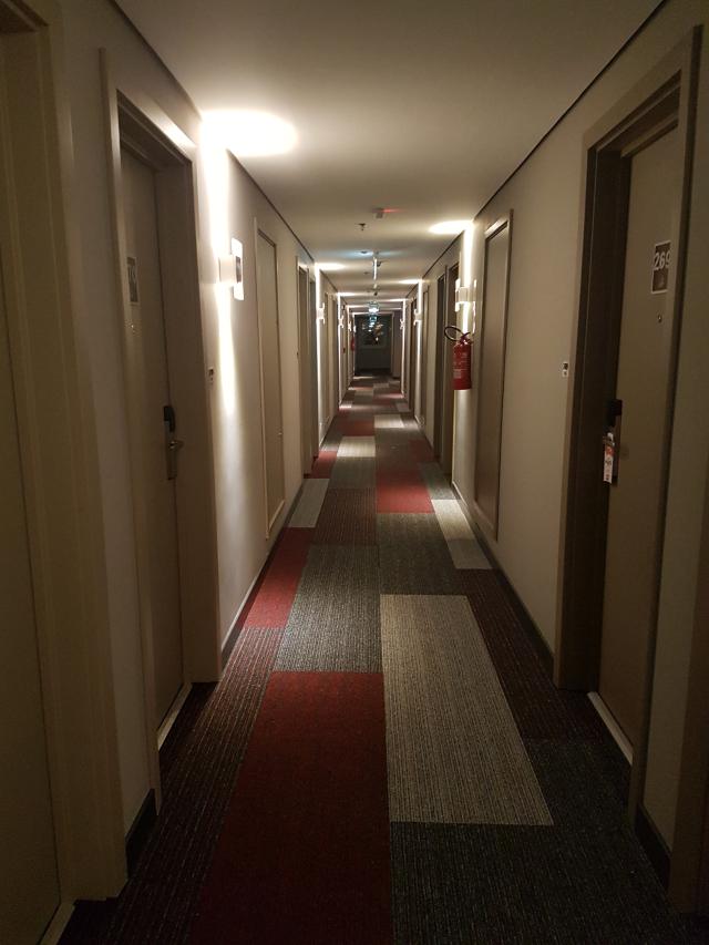 Quarto no hotel ibis igrejinha