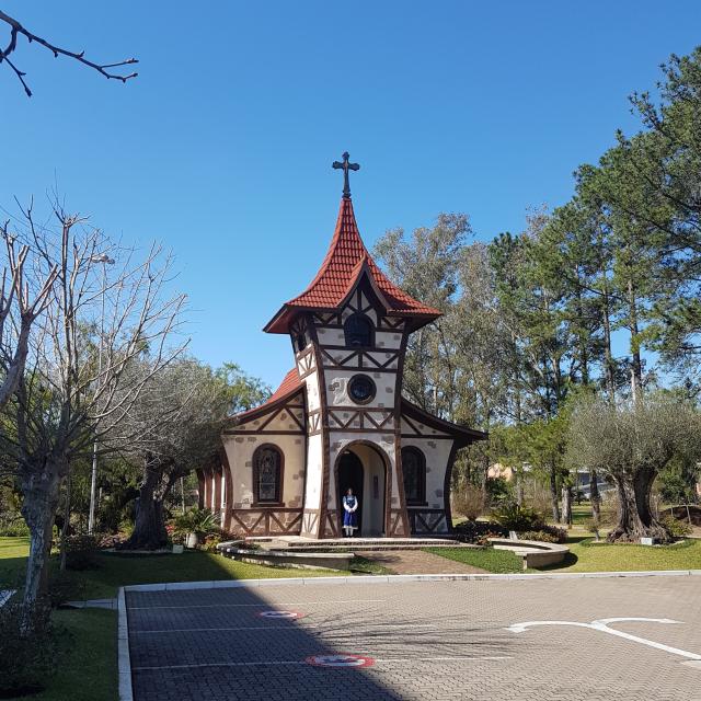 Mini roteiro serra gaucha Igreja Alles Blau Igrejinha - Um final de semana na Serra Gaúcha