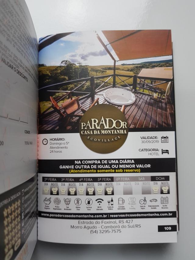 Prime Gourmet Porto Alegre - Desconto Hotel Parador Casa da Montanha Cambará do Sul