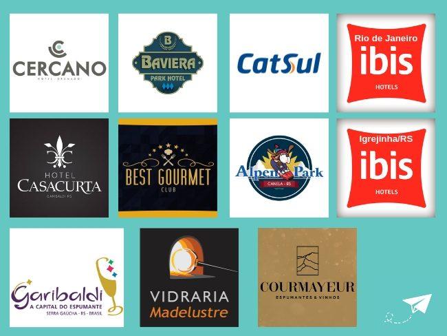 parceiros blog dicas de viagens e cia em brasil