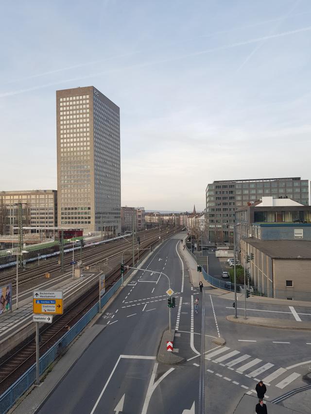 Alemanha Caminho da Estação de Metrô ao Novotel