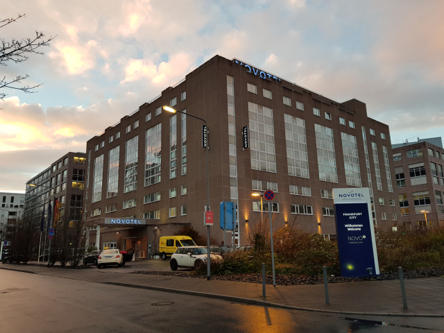 Fachada Novotel Frankfurt
