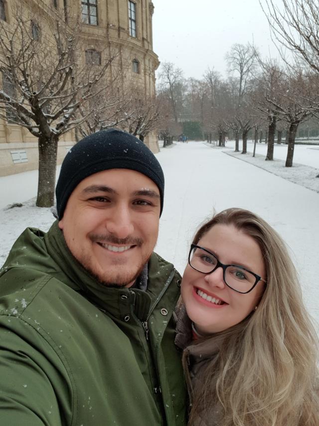 Neve em Wurzburg